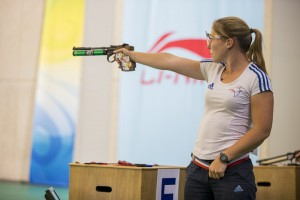 ISSF World Cup Rifle/Pistol/Shotgun 2014 - Beijing, CHN - Finals 10m Air Pistol Women