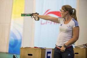 ISSF World Cup Rifle/Pistol/Shotgun 2014 - Beijing, CHN - Finals 10m Air Pistol Women